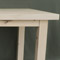 Extending dining table made in solid birch