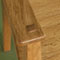 Senior chair in Oak - Arm joint detail